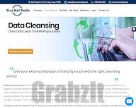 Data Cleansing Services – B2B Data Cleaning – Data Scrubbing