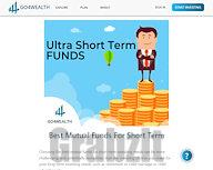 Best Mutual Funds For Short Term Investment- Go4Wealth