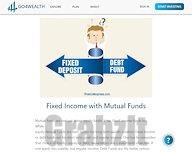 Fixed Income with Mutual Funds – Top Performing Income Funds – Go4Wealth