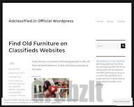 Find Old Furniture on Classifieds Websites – Adclassified.in Official WordPress